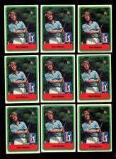 1982 DONRUSS GOLF #3 TOM WATSON LOT OF 9 NMMT X268174