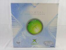 Microsoft Xbox Original Crystal Clear Console Boxed