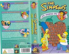 THE SIMPSONS LOVE SPRINGFIELD STYLE  PAL VIDEO A RARE FIND