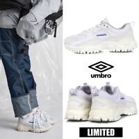 UMBRO Limited BUMPY Athletic Sneaker Dad Shoes White Sz 220-290mm