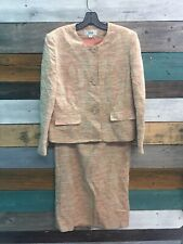 Le Suit Blazer And Skirt Multicolor size 14