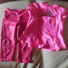 Adidas shirt and Gimboree pants Toddler girl, 2 Toddler, pink