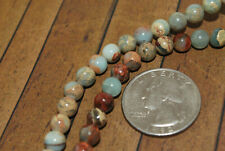 New 16 inch strand African Opal Gemstone Beads - 6mm - G173