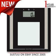 Salter Digital Body Bathroom Scale│Body Fat-BMI-Ultra Slim with Toughened Glass│