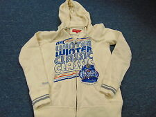 WOMENS MITCHELL & NESS VINTAGE STYLE NHL 2012 WINTER CLASSIC HOODED JACKET S