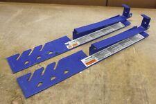 "LOT of 2 Werner ARB10-10 • 10"" Adjustable Roof Bracket (s) Good Used Cond. rk3"