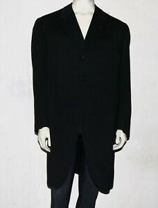 Edwardian black wool morning suit jacket 1912 oversized antique
