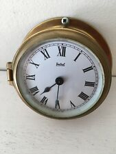 Sestrel england Vintage antique boat home Marine Brass clock henry browne London