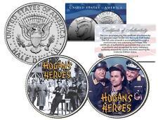HOGAN'S HEROES * TV SHOW * Colorized JFK Half Dollar 2-Coin Set Bob Crane Klink