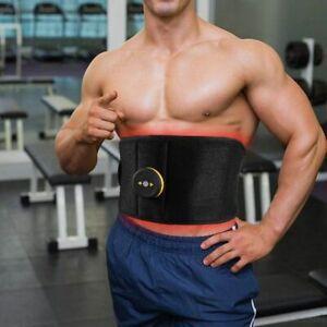 Muscle Toning Belt Electric Abdominal Vibration Massage Slimming Waist Support