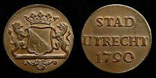 Netherlands / Utrecht - Duit 1790 ~ CNM 2.44.22
