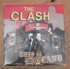 """The Clash This Is England 7"""" Vinyl Poster Sleeve CBS Records A6122 1985"""