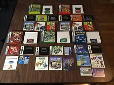 Pokemon: FireRed+LeafGreen +Emerald+Ruby+Sapphire (GBA LOT) Complete - Authentic
