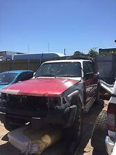 Wrecking 1999 Nissan patrol gu tb45