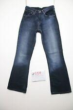 Levis 525 bootcut (Cod.J559) Tg.42 W28 L34 orlo rifatto  jeans usato vintage