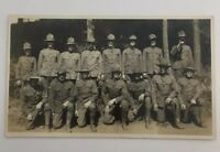 WW1 Soldiers Group Real Photo Postcard UnPosted 1915-1930 (lot#11)