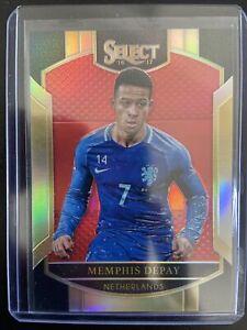2016-17 Select Red Refractor #33 Memphis Depay /199 NETHERLANDS K2