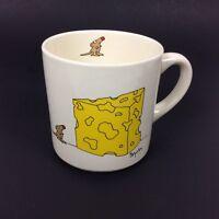 The Big Cheese Coffee Mug Sandra Boynton Mouse Cartoon Office Bosses Day Gift