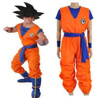 Dragonball Dragon Ball Son Goku Cosplay Costume Halloween Full Set Outfit Unisex