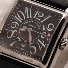 Franck Muller Conquistador Cortez 10000 L Stainless Steel Automatic 35mm Watch