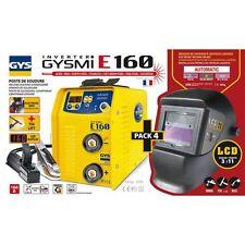 GYS GYSMI E160 E-Hand MMA Elektroden Schweißgerät + Schweißhelm LCD 11  03145
