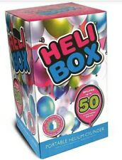 50 Pcs Heli Box Baloons Helium Gas Canisters Disposable Tanks