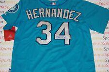 Felix Hernandez Autographed Seattle Mariners Teal Jersey PSA