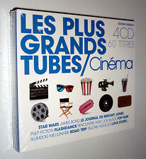 Occaz' : CD - Coffret 4 CD - Les Plus Grands Tubes du Cinéma - NEUF