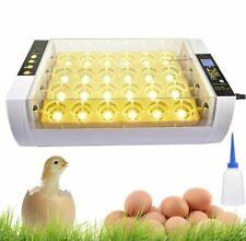 24Eggs Digital Egg Incubator TemperatureControl Poultry Chicken Duck Hatcher new