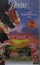 BABE - EEN BUITENGEWONE BIG  / IN DE GROTE STAD  - VHS - 2=1