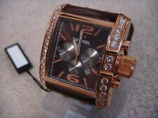 TW Steel Goliath Rose Gold Plated Zirconium Chronograph Men's Dress Watch TW80