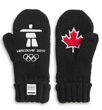 2020 Canada Olympic Team Vancouver 2010 Anniversary Red Mittens Maple Leaf