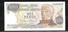 ARGENTINA #304C UNC 1983 1000 PESOS BANKNOTE PAPER MONEY CURRENCY BILL NOTE