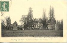 SAVIGNY-SUR-ORGE 37 le château et l'église vue d'intérieur éd thévenet