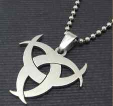 Hot sale fashion 316L stainless steel Resident Evil style pendant men`s necklace