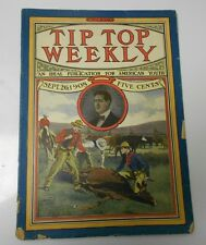 1908 TIP TOP WEEKLY #650 Cattle Rustling G/VG
