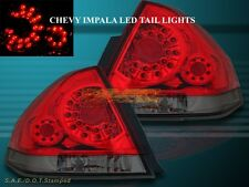 06-11 Chevy Impala LED Red Smoke Tail Lights Left Right Side Rear Lamps Assembly