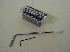 FENDER SQUIER TREMOLO STRAT BRIDGE ASSEMBLY w/ARM REPLACEMENT STRATOCASTER NEW