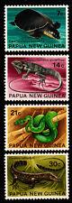 1972 PNG Flora & Fauna (Reptiles & Amphibians) MUH