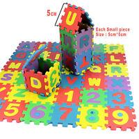 36pcs/Set Baby Kids Alphanumeric Educational Puzzle Blocks Infant Child Toy Gift