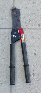 "HK Porter 8690FH Hard Cable Ratchet Cutter 29"" Long"