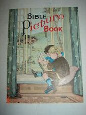 BIBLE Picture Book - Metropolitan Church Association, Waukesha, Wis. - 1929