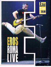 EROS RAMAZZOTTI EROS ROMA LIVE- 2 DVD SIGILLATO!!!