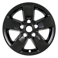 "Black Wheel Skins Covers FOR 2013-2018 DODGE RAM 1500 2500 FITS 17"" Alloy Wheel"