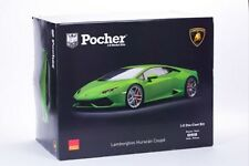 Pocher Verde Mantis (Green) Lamborghini Huracan LP 610-4 1/8 Model Car Kit HK109