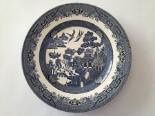 Ringtons Ltd Blue & White 24cm Dinner Plate by Churchill England