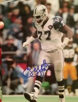 Jim Jeffcoat Signed Autographed 8x10 Photo Dallas cowboys Holo