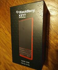 *USA MODEL, NEW, SEALED* BlackBerry Key2 Red Edition 128 GB (BBF100-2)