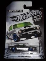 HOT WHEELS ZAMAC 50TH ANNIVERSARY '69 COPO CAMARO WITH FLAMES MUSCLE CAR!