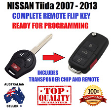 NISSAN TIIDA REMOTE KEYLESS ENTRY TRANSPONDER  FLIP KEY FOB 2007-2013